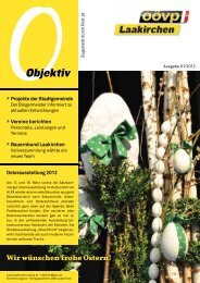 Objektiv April 2012 - Laakirchen