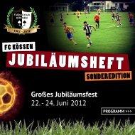 Festschrift - FC Kössen
