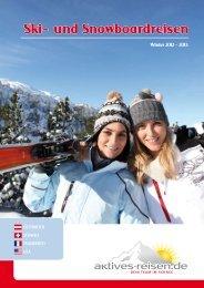 Katalogseite Sportclub Arlberg - Winter 2012 - 2013 - Aktives Reisen