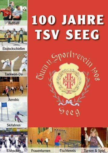 Festschrift 100 Jahre - TSV Seeg