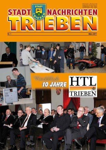 Nr. 1 März 2011 - Trieben