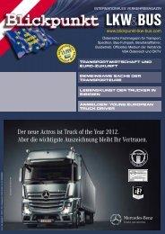 Der neue Actros ist Truck of the Year - Blickpunkt LKW + BUS