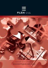 GESCHÄFTSBERICHT 2008 1 - FLEX Fonds