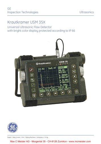 Krautkramer USM 35X - Max C Meister AG