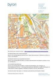 Anfahrtsbeschreibung - Byron Informatik AG