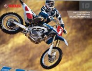 MOTOCROSS OFF-ROAD DUAL-PURPOSE - Yamaha
