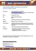 geht es zum Anmeldeformular - BBC-Bayreuth - Page 2