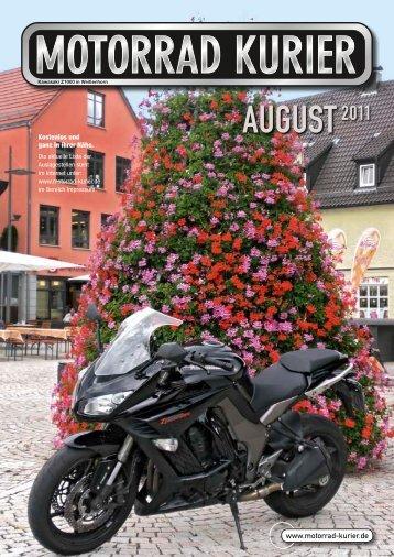 AUGUST2011 - Motorrad Kurier
