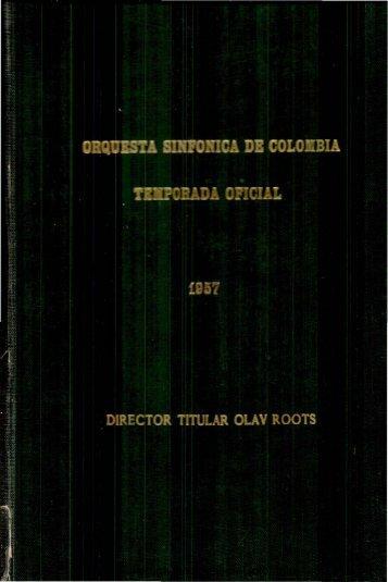 Programa - Biblioteca Nacional de Colombia