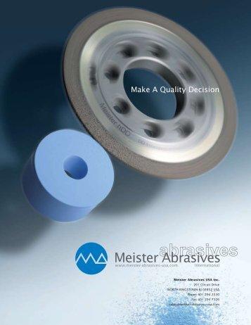 Meister Abrasives USA, Inc