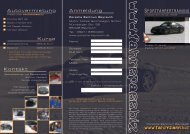 SPORTFAHRERTRAINING www.fahrspass.biz Anmeldung ...