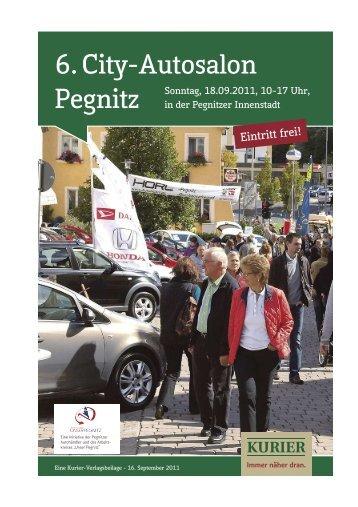 6. City-Autosalon - Verlagsbeilagen des Nordbayerischen Kurier ...
