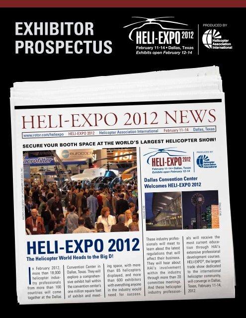 Exhibitor ProsPEctus - Helicopter Association International