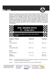 DTM / Brands Hatch - Sektion beider Basel