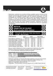 MOTO GP GRAND PRIX DE VALENCE 08-10 novembre 2013 ...