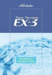 Super Porcelain EX-3 - noritake dental materials