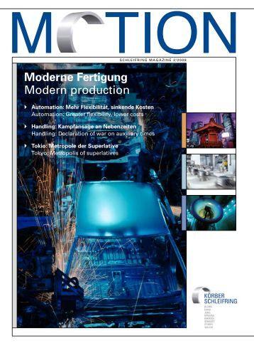 Moderne Fertigung Modern production - galika