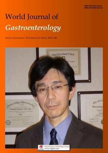 10 - World Journal of Gastroenterology