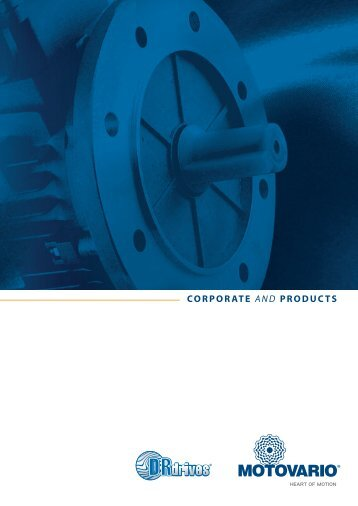 CORPORATE AND PRODUCTS - Motovario Group