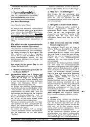 OP-Aufklärung ambulantes Venenstripping - Universitäts-Hautklinik ...