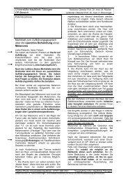 OP-Aufklärung Melanom - Universitäts-Hautklinik Tübingen
