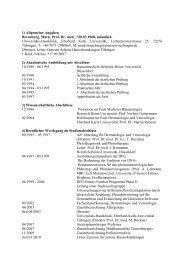 Teilprojekt P2 - Universitäts-Hautklinik Tübingen
