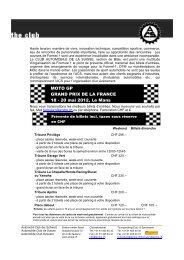 MOTO GP GRAND PRIX DE LA FRANCE 18 - 20 mai 2012, Le Mans
