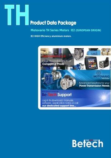 Motovario TH Series Motors IE2 (EUROPEAN ORIGIN) - Betech