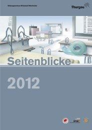BZWW Seitenblicke 2012 - Bildungszentrum Wirtschaft Weinfelden