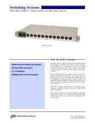 Switching Systems - Prager Elektronik