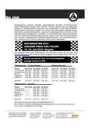 MOTORRAD WM 2012 GROSSER PREIS VON ITALIEN 13.-15. Juli ...