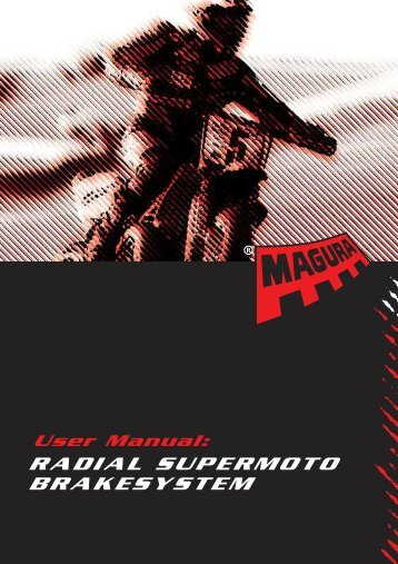 Magura supermoto user manual - Cross-Center International AB
