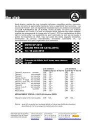 MOTO GP 2013 GRAND PRIX DE CATALUNYA 14 - 16 Juin 2013 ...