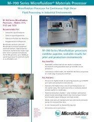 M-700 Series Specifications - Prager Elektronik