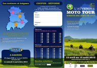 MOTO TOUR - DREAL Auvergne