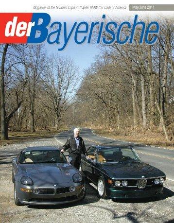 Magazine of the National Capital Chapter BMW ... - der Bayerische