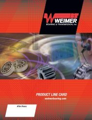 Download Product Line Card - Weimer Bearing & Transmission