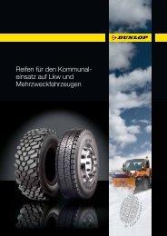 Reifen für den Kommunal- einsatz auf Lkw und Mehrzweckfahrzeugen