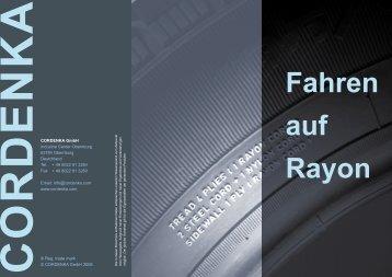 Fahren auf Rayon - Cordenka GmbH