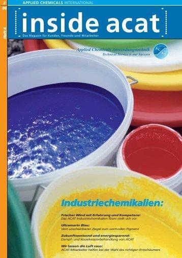 Industriechemikalien: - Applied Chemicals International ACAT