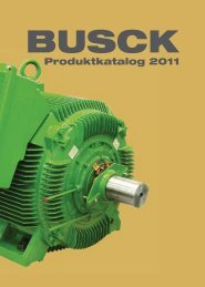 Produktkatalog 2011 - Busck