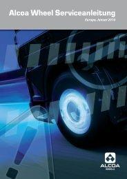Alcoa Wheel Serviceanleitung