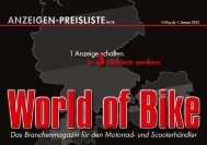 Mediadaten WoB - World of Bike