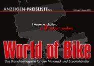 Mediadaten WoB - World of Bike