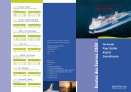 Offre speciale camping-caravaning Finlande 2009 - Baltic Ferries