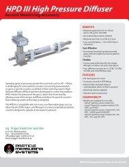 HPD III High Pressure Diffuser Aerosol ... - Prager Elektronik
