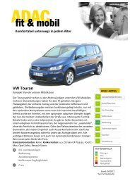 VW Touran - ADAC