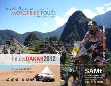 followDAKAR2012 - South America Motorbike tours