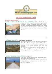 Locandina tour 2012 (PDF) - Moto & turismo on/off road