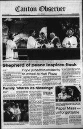 Shepherd of peace inspires flock - Canton Public Library